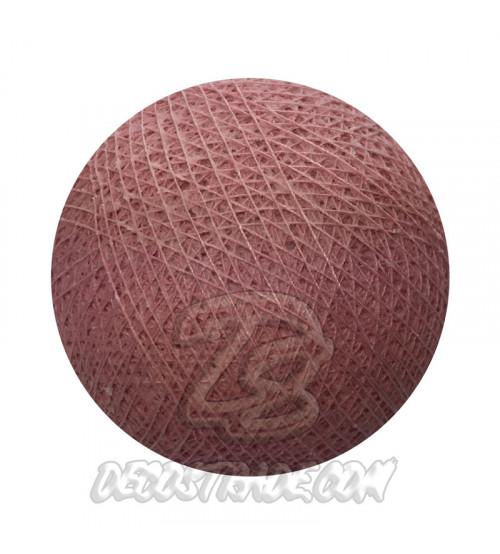 Хлопковый шар для гирлянды, диаметр 6.5 cm 5273
