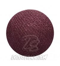 Хлопковый шар для гирлянды, диаметр 6.5 cm 5277