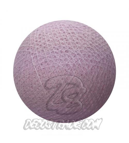 Хлопковый шар для гирлянды, диаметр 6.5 cm 5301