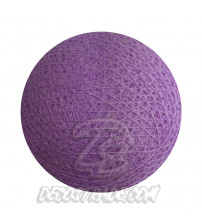 Хлопковый шар для гирлянды, диаметр 6.5 cm 5309