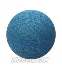 Хлопковый шар для гирлянды, диаметр 6.5 cm 5433