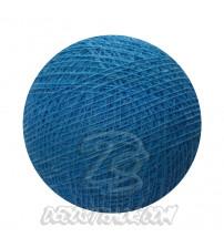 Хлопковый шар для гирлянды, диаметр 6.5 cm 5447