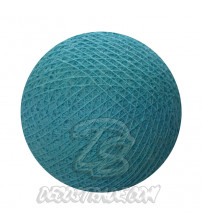 Хлопковый шар для гирлянды, диаметр 6.5 cm 5527