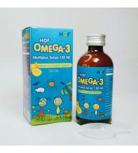 Мультивитаминный сироп для детей Hof Omega-3 Multiplus Syrup Dietary Supplement Product, 120 мл.