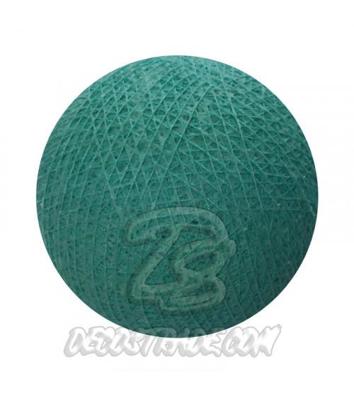 Хлопковый шар для гирлянды, диаметр 6.5 cm 5557