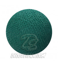 Хлопковый шар для гирлянды, диаметр 6.5 cm 5559