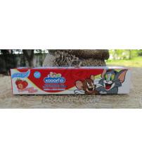 Детская зубная паста «Клубника» от Kodomo, Strawberry Toothpaste For Kids, 40 гр