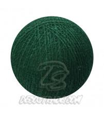 Хлопковый шар для гирлянды, диаметр 6.5 cm 5599