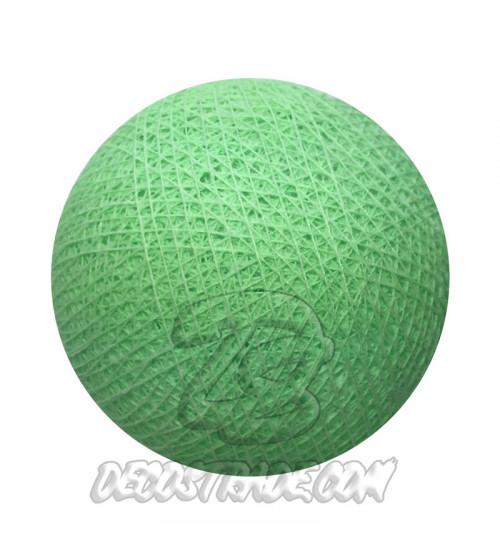 Хлопковый шар для гирлянды, диаметр 6.5 cm 5615