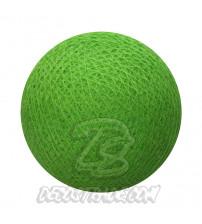 Хлопковый шар для гирлянды, диаметр 6.5 cm 5635
