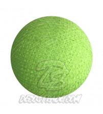 Хлопковый шар для гирлянды, диаметр 6.5 cm 5637