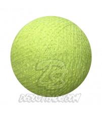 Хлопковый шар для гирлянды, диаметр 6.5 cm 5641