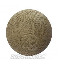 Хлопковый шар для гирлянды, диаметр 6.5 cm 5783