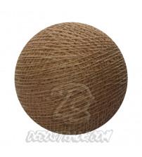 Хлопковый шар для гирлянды, диаметр 6.5 cm 5785