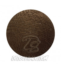 Хлопковый шар для гирлянды, диаметр 6.5 cm 5787