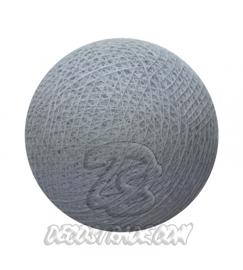 Хлопковый шар для гирлянды, диаметр 6.5 cm 5941