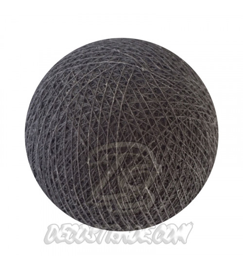 Хлопковый шар для гирлянды, диаметр  6.5 cm 5913
