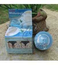 Отбеливающий крем для интимных зон с Алоэ Вера и Зеленым чаем от Isme, Whitening Leg Therapy Cream, 5 гр
