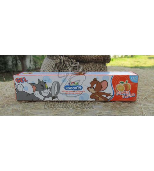 Детская зубная паста «Апельсин» от Kodomo, Orange Toothpaste For Kids, 40 гр