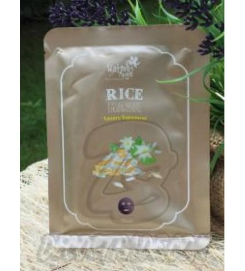 Тканевая маска для красивого цвета лица с экстрактом Риса от Water Angel, Rice Mask Luxury Enjoyment, 25 мл