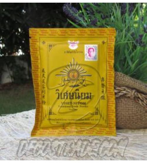 Традиционный тайский зубной порошок Viset-Niyom, Traditional Tooth Powder, 40 гр