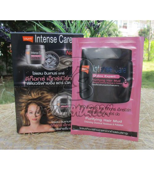 Маска для интенсивной детоксекации волос от Lolane, Intense Care Detox Expert Purifying Hair Mud, 25 гр