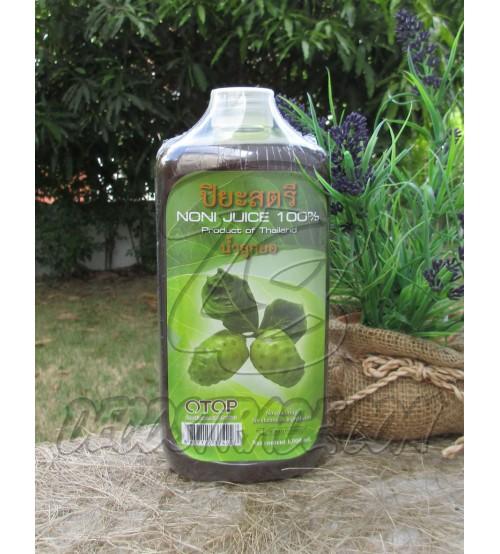 Натуральный 100% сок нони, Noni Juec 100%, 1000 мл
