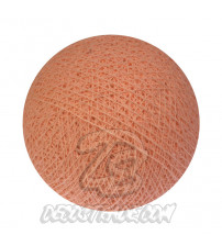 Хлопковый шар для гирлянды, диаметр 6.5 cm 5161