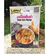 Паста Том Кха для тайского кокосового супа от Lobo, Tom Ka Paste, 50 гр