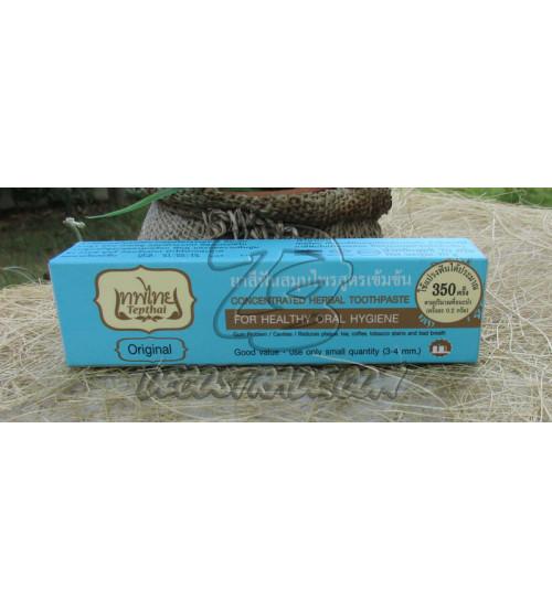 "Натуральная концентрированная зубная паста ""Оригинальная"" от Tepthai, Concentrated Herbal toothpaste (Original), 70 гр"