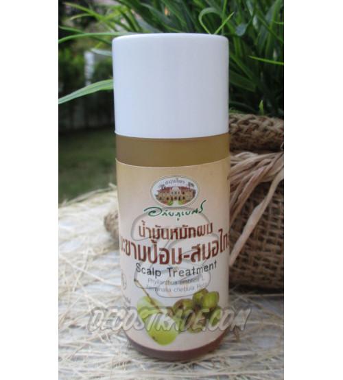 Органическое масло для лечения кожи головы и волос на основе Эмблики от Abhai Herb, 45 мл