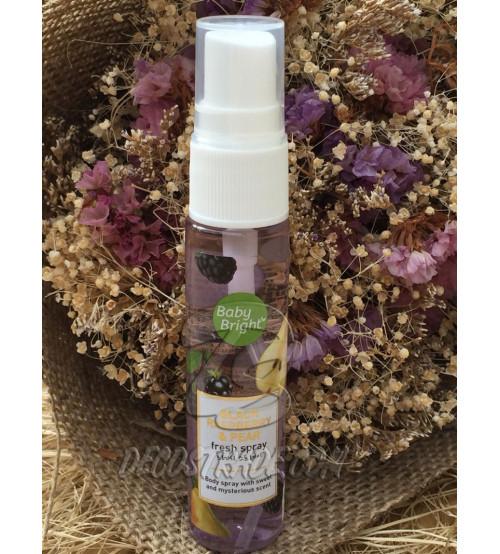 Парфюмированный спрей для тела «Черная малина и Груша» от Baby Bright Black Raspberry & Pear Fresh Spray 20 ml.