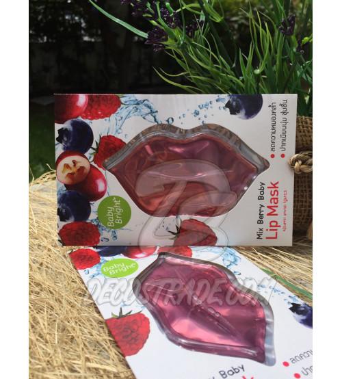 Ягодная маска для губ от Baby Bright, Lip Mask Mix Berry, 10 гр