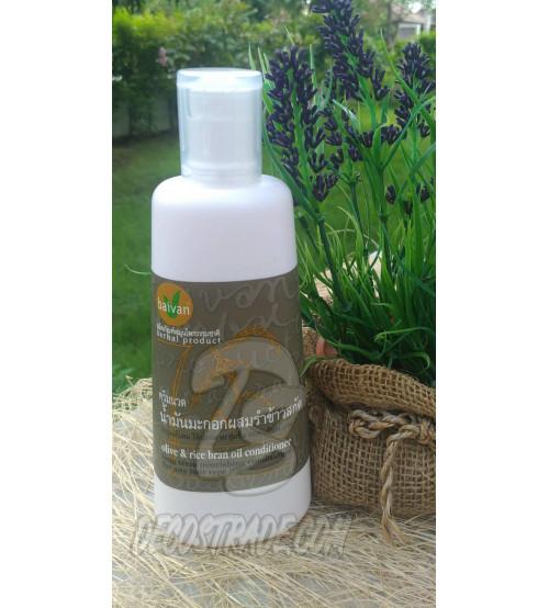"""Кондиционер на основе оливкового и рисового масел для сухих волос от Baivan,""""Olive oil & Hom-Nin Conditioner"""", 300 мл"""
