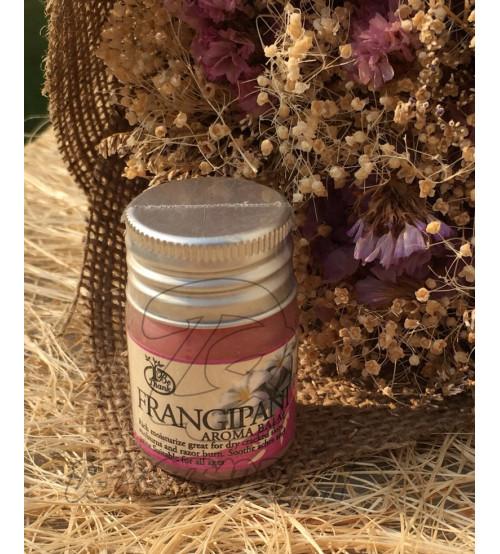 Ароматный бальзам «Франжипани» для сухой и раздраженной кожи от Be Thank, Thai Aroma  Balm Frangpani, 12 гр