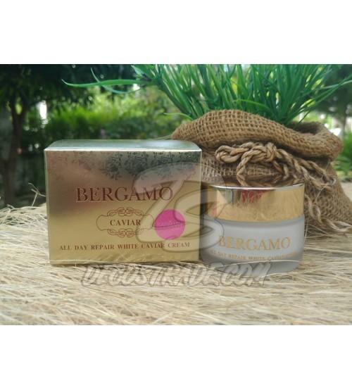 Интенсивный крем для лица с экстрактом Икры и растений от Bergamo, Caviar All Day Repair White Caviar Cream, 30 гр