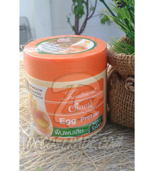 Маска для сухих волос с яичным протеином и коллагеном от Caring, Treatment Egg Protein, 250 мл