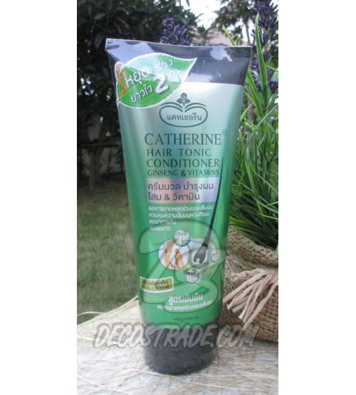 Укрепляющий кондиционер для роста волос с Женьшенем и Витаминами от Catherine, Hair Tonic Conditioner Ginseng & Vitamins, 140 гр