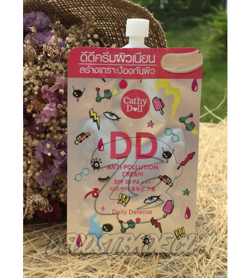 Питательный DD крем с защитой от солнца SPF 30 PA +++ от Cathy Doll, DD Anti-Pollution Cream SPF 30 PA +++, 6 мл