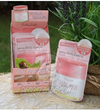 Улиточный крем-сыворотка для контроля жирности и минимизации пор от Cathy Doll, Snail Pink Pore Reducing Serum, 6 гр