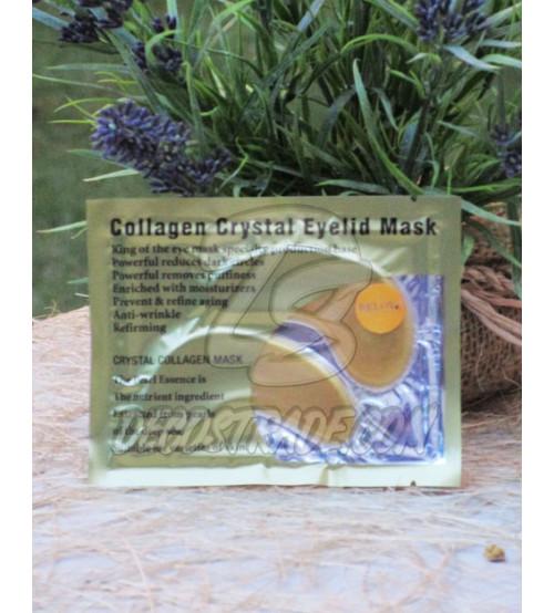 Коллагеновые маски-дольки вокруг глаз Золотые от Belov, Collagen Crystal Eyelid Patch Gold, 6 гр