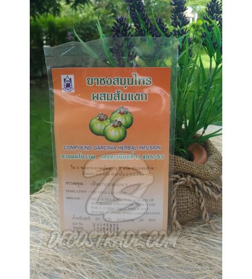 Саше с Гарцинией для приготовления травяного настоя, Compound Garcinia Herbal Infusion, 20 шт