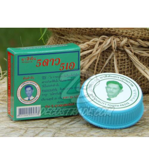 """Зубная паста для ухода за деснами """"5 звезд"""", 5 star Toothpaste, 25 гр"""