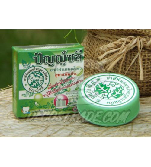 Зубная паста на тайских травах от Punchalee, Thai Herb Toothpaste, 25 гр