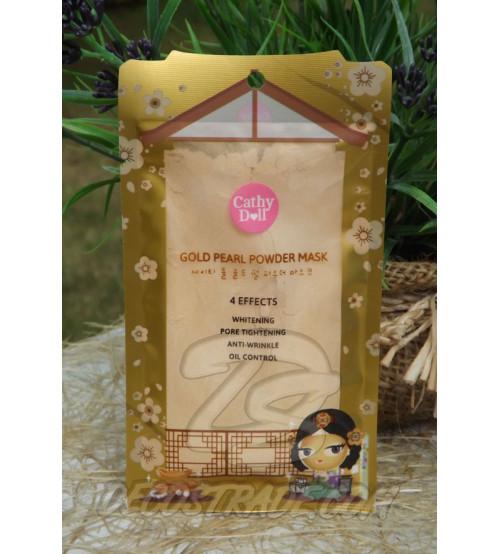 Маска-пудра для лица «Золотая жемчужина» с коллагеном от Cathy Doll, Gold Pearl powder mask, 25 гр