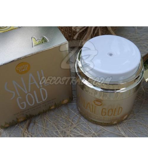 Антивозрастной крем для лица с золотом и улитками от Cathy Doll, Snail Gold snail firming cream for wrinkle skin, 50 гр