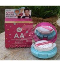 Пудра-кушон для лица с матирующим эффектом и защитой от солнца SPF 50 PA++ от  Cathy Doll, AA matte powder cushion oil control SPF 50 PA++, 6 гр