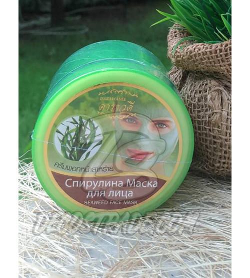 Маска для лица с водорослью Спирулина от Darawadee, Seaweed Face Mask, 100 мл