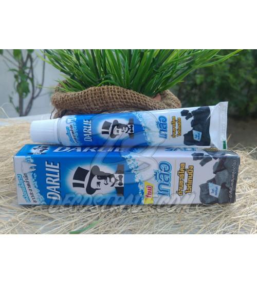 Отбеливающая зубная паста с бамбуковым углем и солью от Darlie,  Pro Active Salt Charcoal Whitening, 35 гр