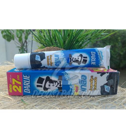 Отбеливающая зубная паста с бамбуковым углем и солью от Darlie,  Pro Active Salt Charcoal Whitening, 75 гр